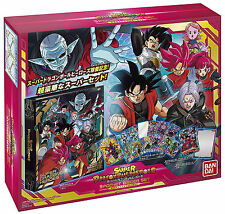 Super Dragon Ball Heroes 9 Pocket Binder Set 13 Cards Factory Sealed
