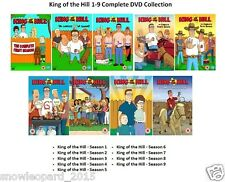 King Of The Hill Complete Series 1 2 3 4 5 6 7 8 9 DVD Collection Seasons Sealed