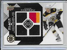 08-09 Black Diamond Chuck Kobasew 3Clr Quad Jersey