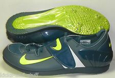 NIKE ZOOM POLE VAULT 2 PV TRACK SHOES SPIKES SZ 14 GREEN VOLT