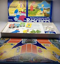 1977 Parker Brothers Disney The Rescuers Board Game Near Complete