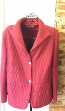 DELMOD RASPBERRY PINK LIGHTLY QUILTED JACKET UK 20