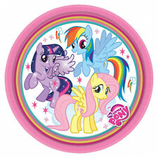 8 x My Little Pony Childrens Party Paper Plates Horse Birthday Party Tableware