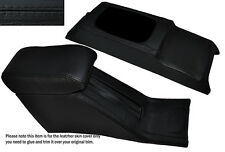 BLACK STITCH CONSOLE & ARMREST SKIN COVERS FITS HONDA CIVIC EG6 EG9 EJ1 92-95