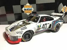 Martini Porsche 935 Turbo '76 LM 24h #40 Strommelen Raced/Dirty Exoto 1:18 18105