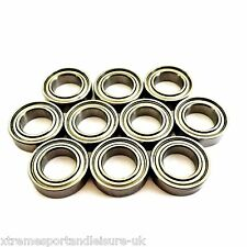 10 Pack MR72 zz  [2x7x3mm] Miniature STAINLESS STEEL High Performance Bearings