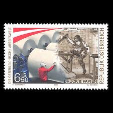Austria 2000 - Austrian World of Work Art Culture - Sc 1805 MNH