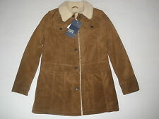 NEW GAP WINTER LEATHER- SHERPA  JACKET SIZE  XS  NEW SALE RARE HOT