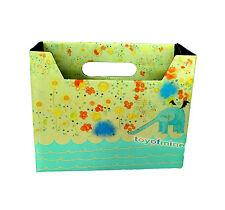 DIY Paper Board Decor Organizzatore cartoleria trucco cosmetico Storage Box