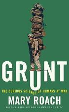 Grunt : The Curious Science of Humans at War by Mary Roach (2016, CD,...