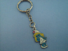 """GIRLS CHARACTER """"SMURFETTE""""  KEY RING,FREE POST IN OZ!!"""