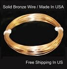 BRONZE Wire 20 Ga 66 Ft.( SOFT ) Quality Round Craft Wire 3 Oz Coil / US Made
