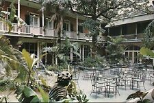 Patio of Brennan's French Restaurant, Royal Street, New Orelans, LA -- Postcard