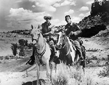 "The Lone Ranger and Tonto in 1956 Classic TV Show 8""x 10"" Photo 2"