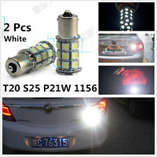 2 x White 18-SMD LED Car Back Up Reverse Light Tail Bulbs Lamp for BMW Audi Benz