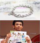 Korean New SHINee Silver Onew Buckle Bracelet