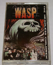 Wasp The Headless Children 1989 Cassette Capitol Records  VG+ Fast Shipping
