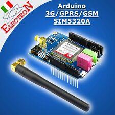 Arduino 3G GSM GPRS Shield SIM5320A SIMCOM Quad-Band 850 /900/1800/1900 MHz