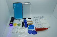 Samsung Galaxy S4 İ9500/i9505  Front Glass Repair Kit Blue , Loca Glue ,Uv Torch