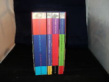 Harry Potter Box Set Complete Set Of 4 Paperback Bloomsbury Presentation BOX