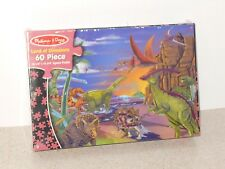 """""""LAND OF DINOSAURS"""" PUZZLE BY MELISSA & DOUG - NEW IN FACTORY SEALED BOX"""