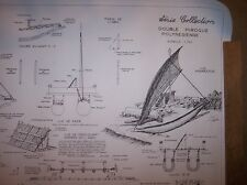 POLYNESIENNE DOUBLE PIROGUE PLAN