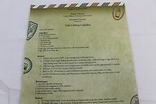 Epcot Food and Wine Fest Recipe Card for Buddy Valastro Carlo's Cupcakes