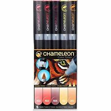 Chameleon 5 Pen Warm Tones Set CT0511 Color Tones Markers