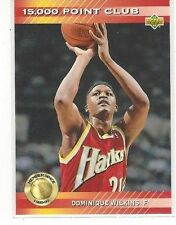 1992-93 UPPER DECK BASKETBALL 15000 POINT CLUB DOMINIQUE WILKINS #PC1 - HAWKS