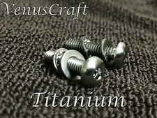 """ Titanium "" Floyd Rose & Ibanez  Nut Rear Mounting Ti Screws Tremolos"