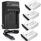 NP-45 NP-45A Replace Battery + Travel Charger For Fujifilm FinePix XP60 J20 J100