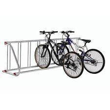 Grid Bike Rack, 9-Bike, Single Sided, Powder Coated Galvanized Steel