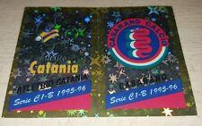 FIGURINA CALCIATORI PANINI 1995/96 SCUDETTO CATANIA CASARANO ALBUM 1996
