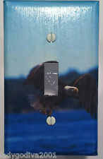 American Bald Eagle - Light Switch Cover - Single Switchplate - FREE Shipping