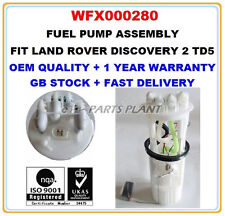 LAND ROVER DISCOVERY II 2.5 TD5 INTANK FUEL PUMP ASSEMBLY WFX000280 7507124