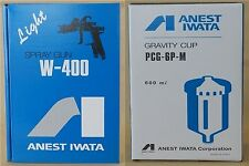 New ANEST IWATA W-400 122G 1.2mm Gravity Spray Gun with 600ml Cup from Japan