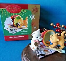 Carlton Ornament 2005 Merry Mischief Makers Cat Kitten # 10 *NEW*