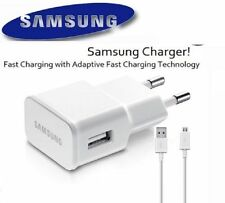 For Samsung Universal Mobile Charger USB Power Wall Adapter 2 Amp + Cable