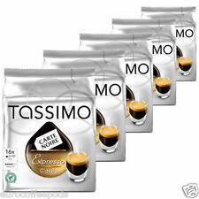 Tassimo Carte Noire Espresso Classic Coffee, 5 Packs, (80 t disc / Servings)
