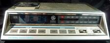 Vintage GE Electronic Touch Control Alarm Clock AM/FM Radio (Model No.7-4663A)