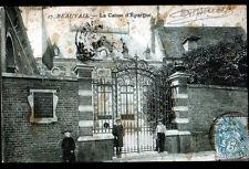 """BEAUVAIS (60) BANQUE """"CAISSE d'EPARGNE"""" animée en 1904"""