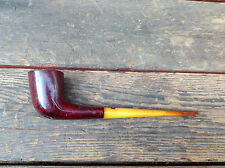 KBB Yello-Bole Honed Cured Imported Briar Pipe with Yellow Stem