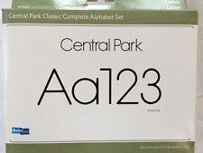 """Quickutz """"Central Park"""" Classic Complete Alphabet Set *New*"""