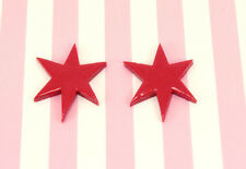 Wonder Woman *Red Star* Earrings - Cosplay DC Comics Halloween Costume