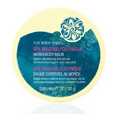 SALE Body Shop POLYNESIA MONOI BODY BALM 200ML - Coconut, Gardenia & Frangipani