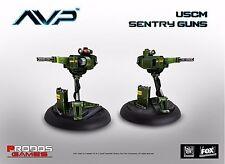 New Aliens Vs Predator The Hunt Begins USCM Sentry Guns Expansion Game AVP UK