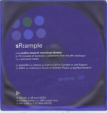sR:ample ::: A Source Research Recordings Sampler  CD