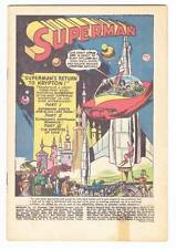 Coverless SUPERMAN #141 - 1960 Silver Age - Jerry Siegel & Wayne Boring