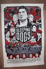Sleeping Dogs Variant Print Poster by Tyler Stout
