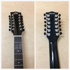 EKO NXT 018 CW XII EQ Black 12-String Jumbo Electro-Acoustic Guitar+Free Gig Bag